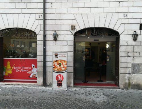 La pizzeria Da Michele a Roma: nuova apertura Fontana di Trevi