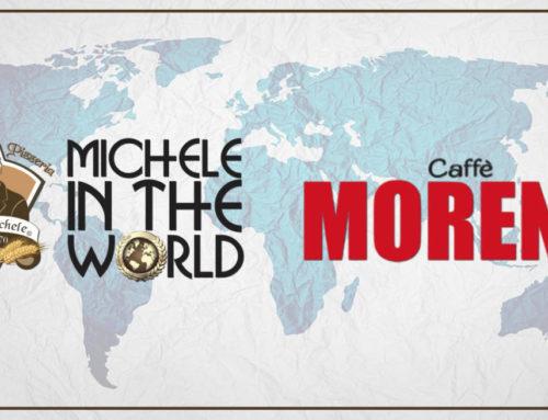 ANTICA PIZZERIA DA MICHELE IN THE WORLD E CAFFÈ MORENO IN CO-BRANDING PER IL MONDO