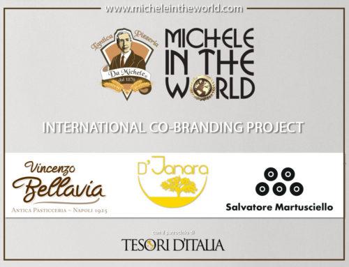 L'Antica Pizzeria da Michele con Bellavia, Martusciello e la Saint John's  alla conquista del mondo.