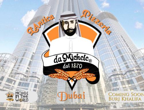 L'Antica Pizzeria da Michele negli Emirati arabi:  tradizione e innovazione  nella città degli sceicchi.