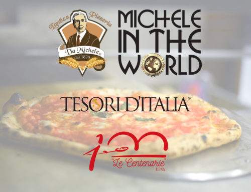 L'Antica Pizzeria da Michele in the world in tour con Tesori d'Italia