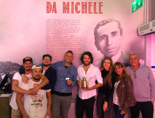 La pizza di Michele in the World trionfa a Londra!