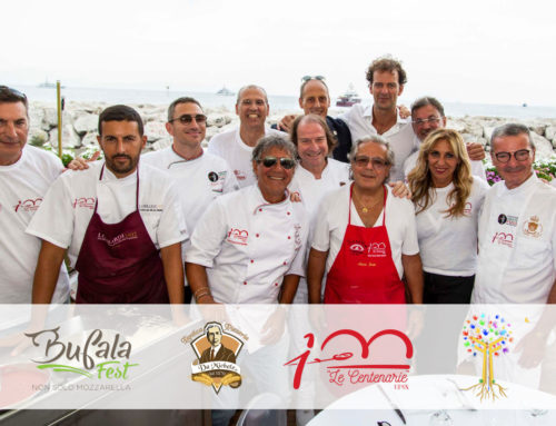 Bufala Fest, L'Antica Pizzeria da Michele con Le Centenarie incontra i bambini della Fondazione Fabozzi