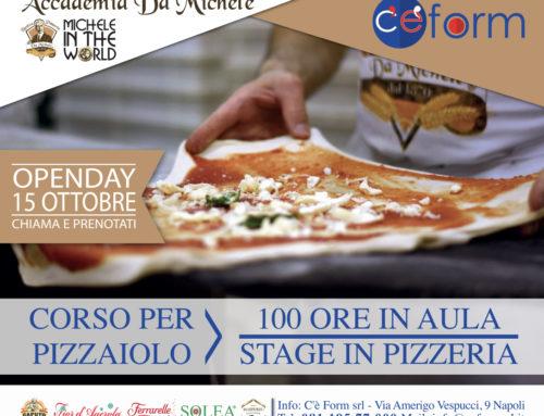 L'Antica Pizzeria da Michele in the world: open day a Napoli del corso di formazione per pizzaioli