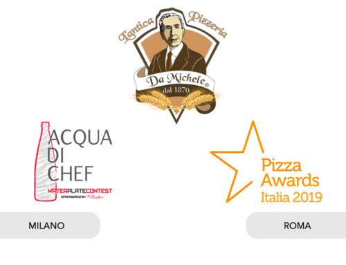L'antica pizzeria da Michele premiata agli Oscar della pizza a Roma eprotagonista di Acqua di Chef a Milano