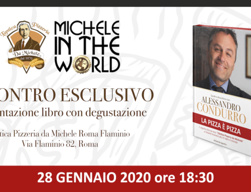 """Libro e degustazione """"La pizza è pizza"""" a Roma, ne l'Antica Pizzeria da Michele Flaminio"""