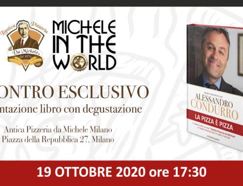 """Libro e degustazione """"La pizza è pizza"""" a Milano"""