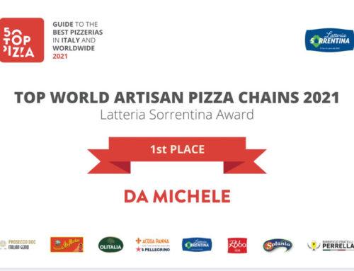 Da Michele miglior catena artigianale di pizzerie per 50 Top Pizza